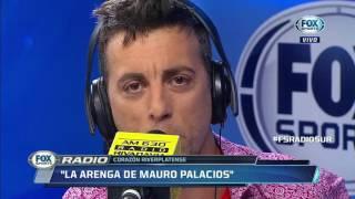 Download Video La arenga previa de Mauro Palacios antes del triunfo River ante Boca 3 a 1 Radio Fox MP3 3GP MP4