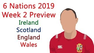 6 Nations 2019- Round 2 Preview- Scotland vs Ireland, England vs France, Italy vs Wales