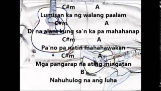 CALLALILY - Susundan lyrics w/ guitar chords