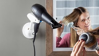 Bestie Brands | Hands-Free Blow Dryer Holder