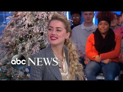 Amber Heard dishes on Jason Momoa's pranks on 'Aquaman' set