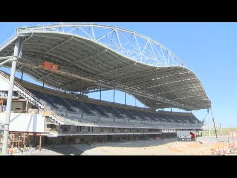 Tour of Investors Group Field as construction wraps up