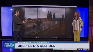 Uber en Córdoba: el día después