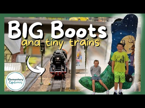 Finding Big Boots and Playing with Model Trains in Downtown Cheyenne, WY