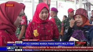 Bagi-bagi Angpao Hingga Atraksi Barongsai Meriahkan Stasiun Bogor