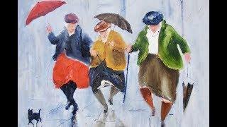 Поющие под дождем. Живопись Дез Брофи и Александр Миллар