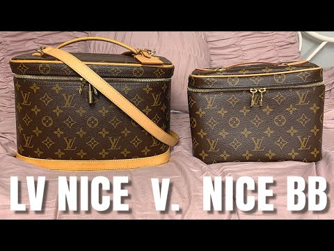 Louis Vuitton Nice BB v Nice train case: What's In My Bag & Why I'm NOT buying the LV Nice Mini