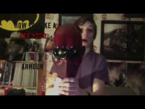 How To Make A New Red Hood Mask & Armour