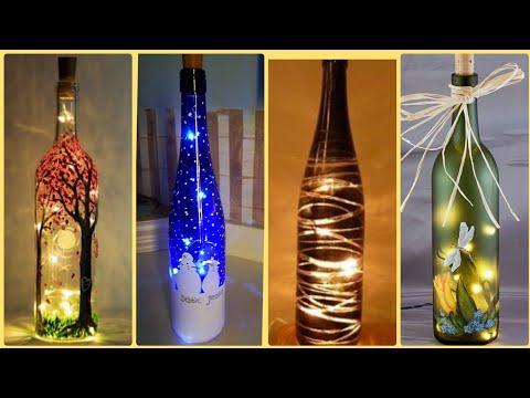 36-diy-super-creative-wine-bottle-craft-ideas-  -empty-wine-bottle-decoration-ideas- -diy-craft-idea