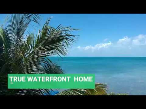 True Waterfront Home for Sale on Caye Caulker in Belize