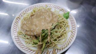 佳家涼麵 地元に愛される涼麺のお店 最寄りはMRT南京復興駅です 台湾の冷やし中華と言われる涼麺です