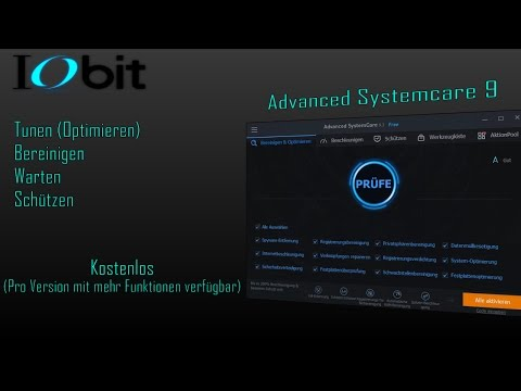 IObit | Advanced SystemCare 9 | Free [Deutsch][Vollständiges Review]