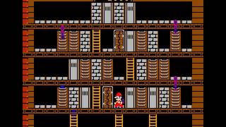Arcade Game: Vs. Wrecking Crew (1984 Nintendo)