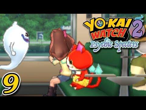 YO-KAI WATCH 2 PSYCHIC SPECTERS ~ VISITING GRANDMA IN HARRISVILLE ~ Part 9 ~ Gameplay Walkthrough