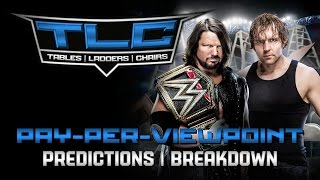 WWE TLC 2016 PPV Event Match Card Predictions Rundown (Tables, Ladders & Chairs 2016)