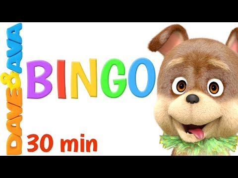 🐶 Bingo & Wheels on the Bus & More Nursery Rhymes from Dave and Ava 🐶