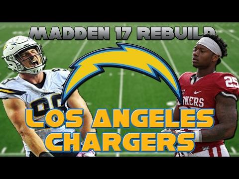 Madden 17 Rebuild | Los Angeles Chargers | BADASS DEFENSE!