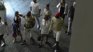 LeBron James vacation in Capri (Italy) with wife and friends VIDEO EXCLUSIVE