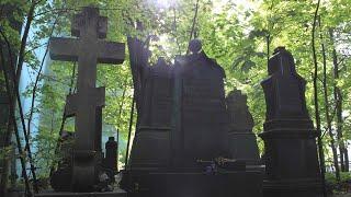 Старые захоронения Малоохтинского старообрядческого кладбища