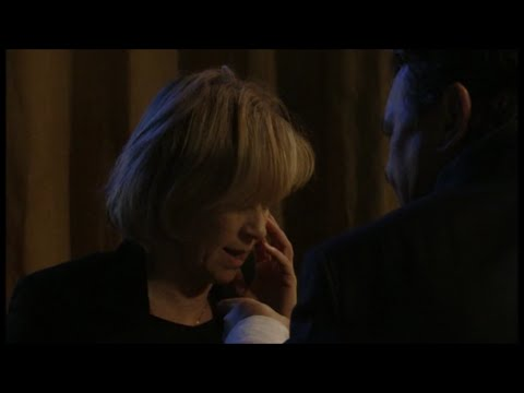 Derek Branning Backhands Carol Jackson (EastEnders - 13/01/2012)
