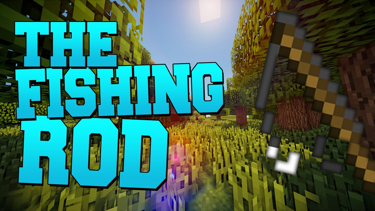 How to use the Fishing Rod (Minecraft PVP) - YouTube