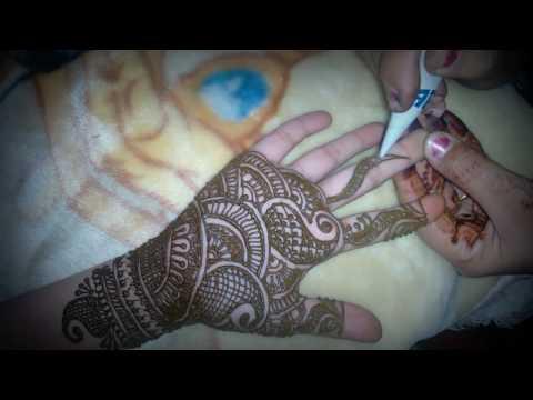 New design of Mehandi [Hindi/Urdu]Indian bridal mehandi ( grace art)