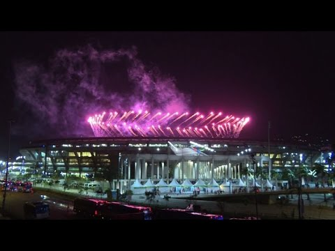 Rio Paralympics flame extinguished to end Games