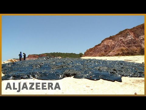 Brazil oil spill: Origin of sludge remains unclear