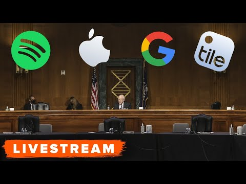 Apple Store and Google Play Store owners testify before Congress (full hearing)