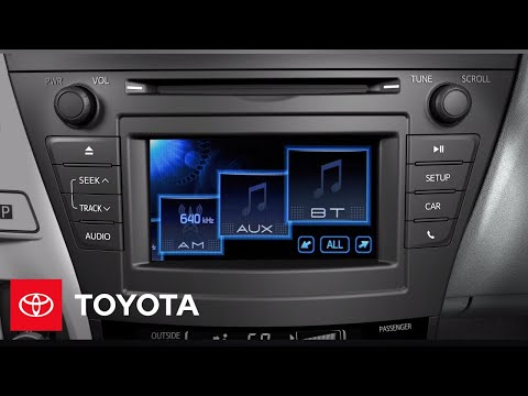 2012 prius v how to aux input toyota youtube. Black Bedroom Furniture Sets. Home Design Ideas
