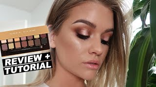 aBH SOFT GLAM PALETTE  Review  Tutorial