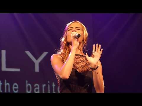 Sophie Evans 'Save the world tonight'  live Lyric Theatre Carmarthen 17.07.13.HD