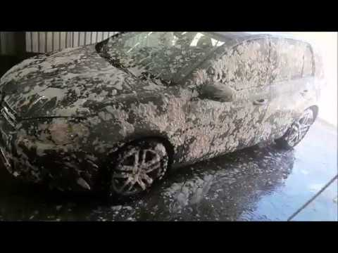 DIRTY CAR Cleaner // Complete Interior Exterior Deep Cleaning of a GOLF MK6