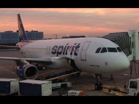 Full Trip Report: Spirit Airlines Airbus A320-232 [N616NK] redeye PDX-ORD NKS654