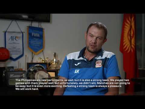 Kyrgyz Republic coach: Aleksandr Krestinin