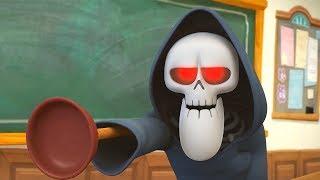 Funny Animated Cartoon | Spookiz | I Lost My Hand | 스푸키즈 | Cartoon For Children