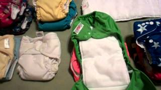 Our Cloth Diapering Stash (Part1)