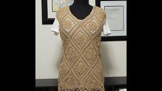Repeat youtube video Crochet: Blusa Romina