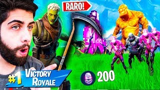 I KILLED THE MOST ZOMBIES WITH RARE SKIN OF SICKLE-FORTNITE