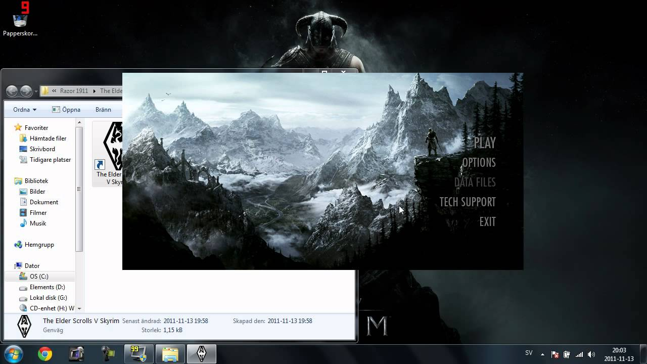 How to use skyui for cracked skyrim