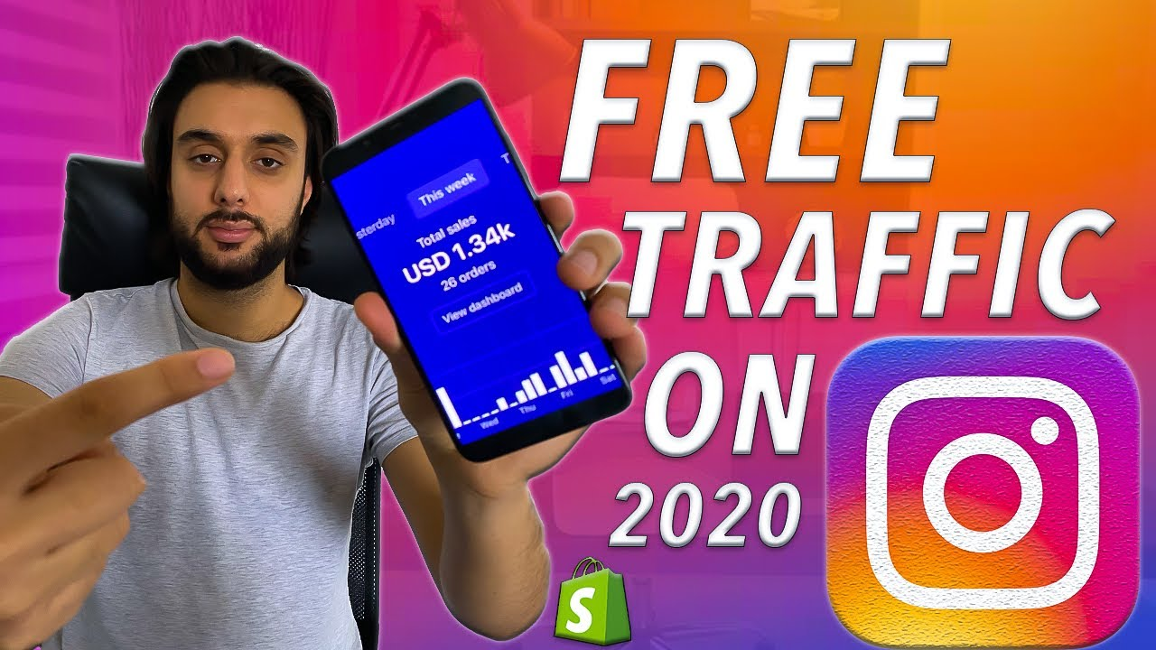 How To Make $3,000+ A Week on Shopify With FREE Instagram Traffic 2020