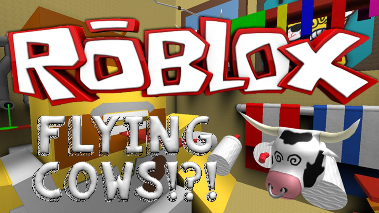 Escape The Bathroom Obby roblox | escape the bathroom obby | flying cows !?! - youtube