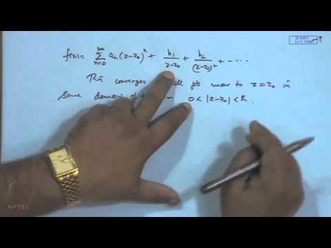 Mod-02 Lec-21 Classification of Singularities, Residue and R