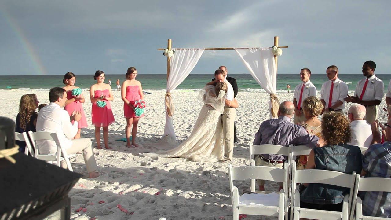 Destin Beach Wedding Teaser Casey Savannah