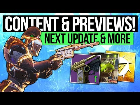Destiny 2 News | NEXT UPDATE & PREVIEWS! Mark Noseworthy Talks D2, Exotic Buff Demo's & DLC Area?
