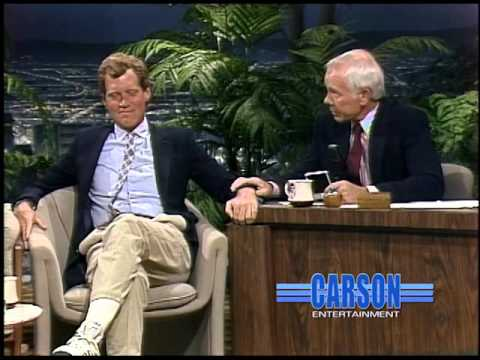 Johnny Carson Steals David Letterman's Truck!