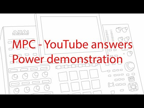 MPC YouTube answers - Power demonstration