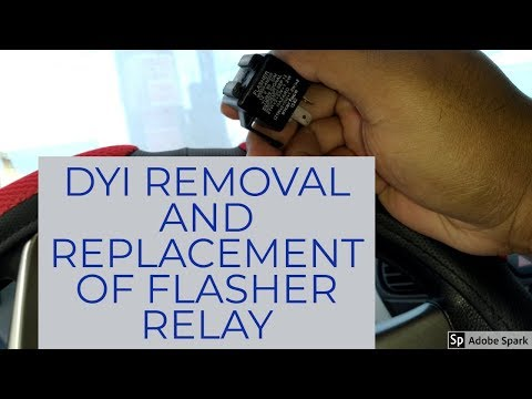 DYI HOW TO REMOVE AND REPLACE YOUR FLASHER RELAY HYUNDAI EON (ENGLISH)