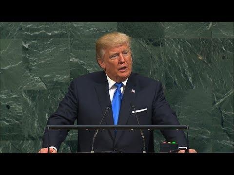 President Donald Trump blasts 'Rocket Man' Kim Jong Un in UN General Assembly 2017 address