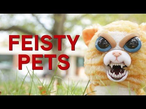 Feisty Pets from ThinkGeek